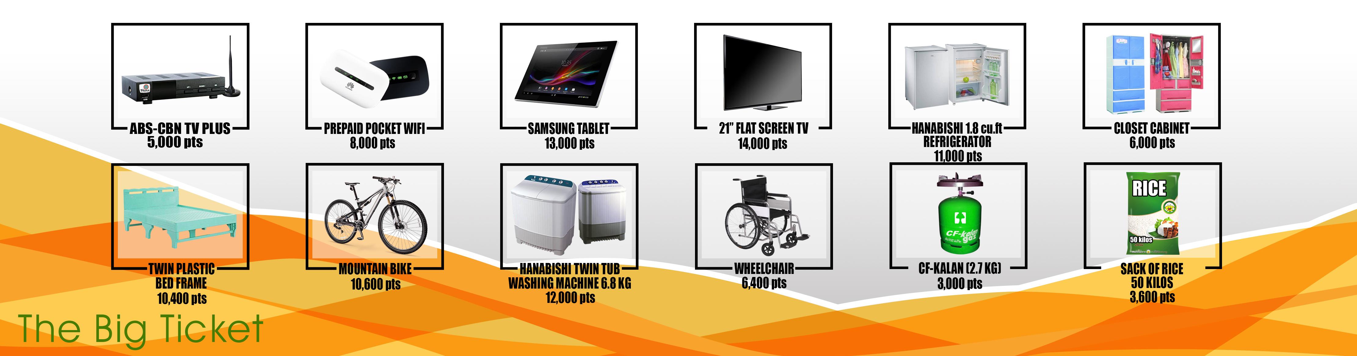 Reward points for Batangas, Pangasinan, La Union & Baguio - Clean Fuel